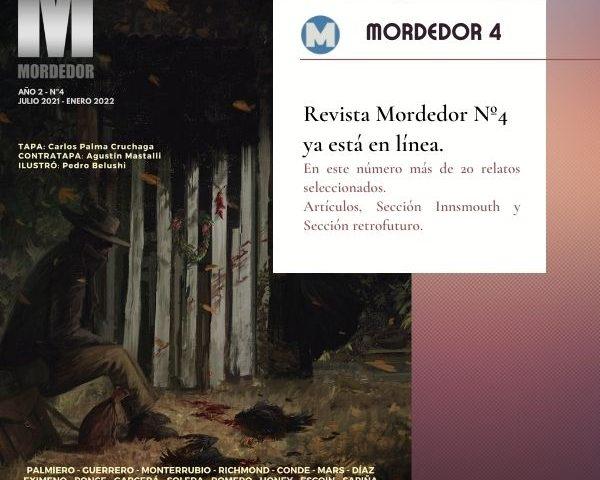 Salió Revista Mordedor Nº4